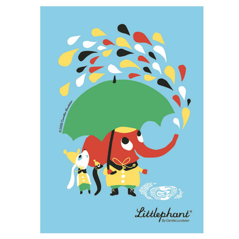 Littlephant Rain Poster