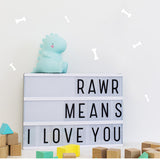 A Little Lovely Mini Dinosaur Lights, A Little Lovely, Huset | Modern Scandinavian Design