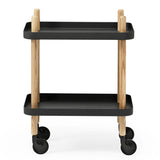 Normann Copenhagen Block Rolling Cart Table - Huset Shop - 2