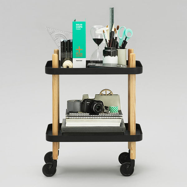 Normann Copenhagen Block Rolling Cart Table - Huset Shop - 1