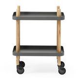 Normann Copenhagen Block Rolling Cart Table - Huset Shop - 8