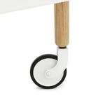 Normann Copenhagen Block Rolling Cart Table - Huset Shop - 9