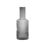 Ferm Living Smoked Grey Ripple Carafe, Ferm Living, Huset | Modern Scandinavian Design