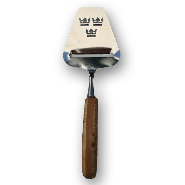 "Skandinavisk Hemslojd ""Three Crowns"" Cheese Slicer"