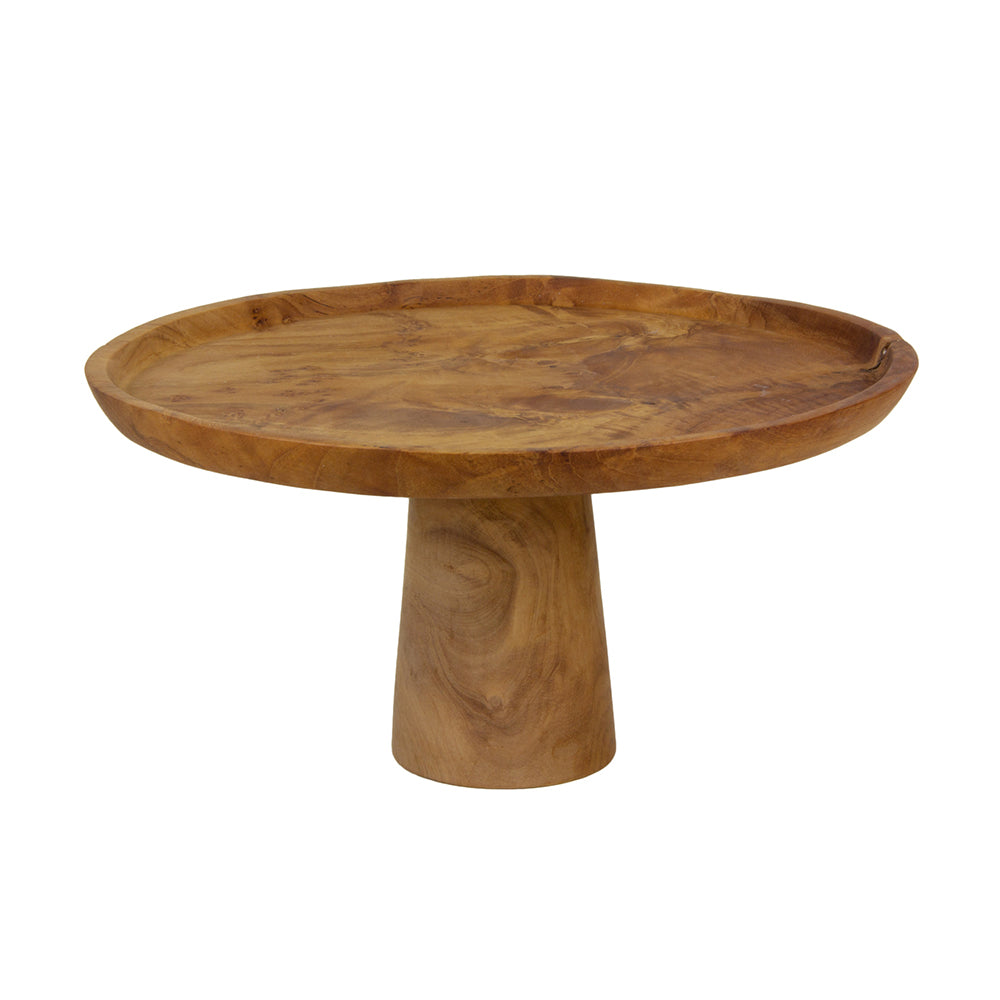 Sir Madam Teak Root Pedestal