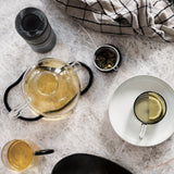 Ferm Living Smoked Grey Ripple Carafe Set Small, Ferm Living, Huset | Modern Scandinavian Design