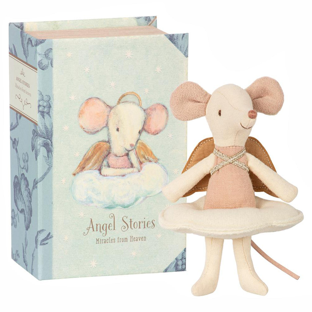 Maileg Angel Mouse in Book, Maileg, Huset | Modern Scandinavian Design