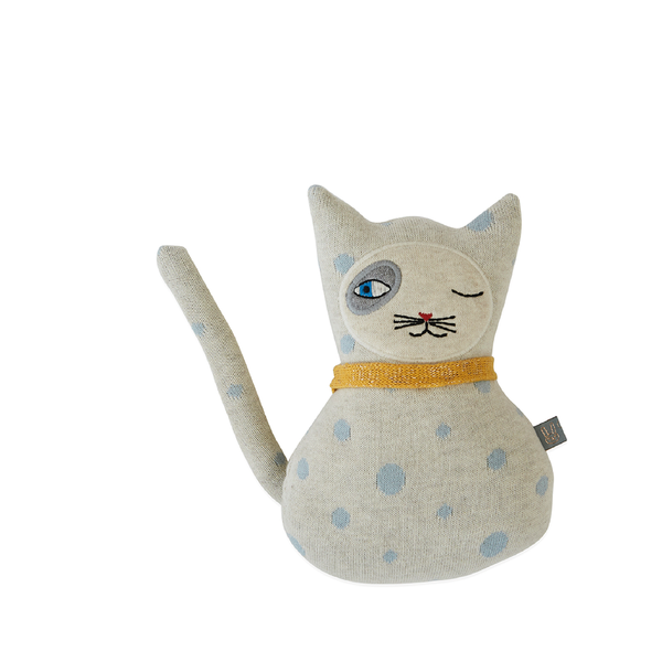 OYOY Baby Benny Cat Cushion, OYOY, Huset | Modern Scandinavian Design