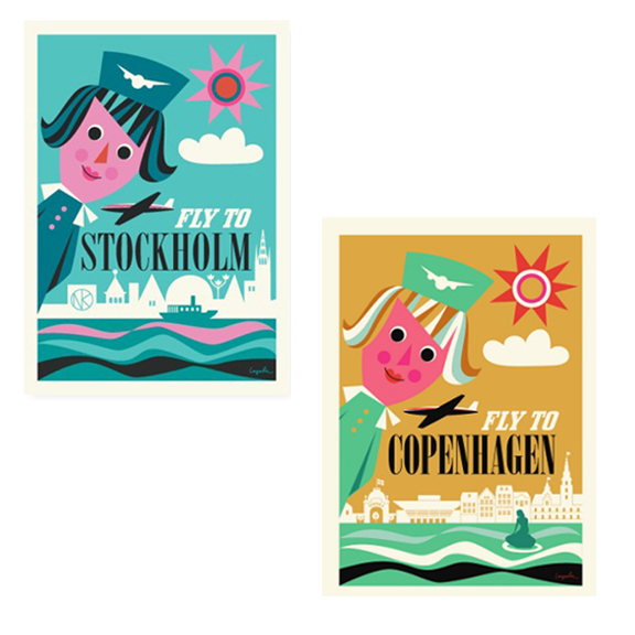 Ingela P. Arrhenius Capital Posters - Huset Shop - 1