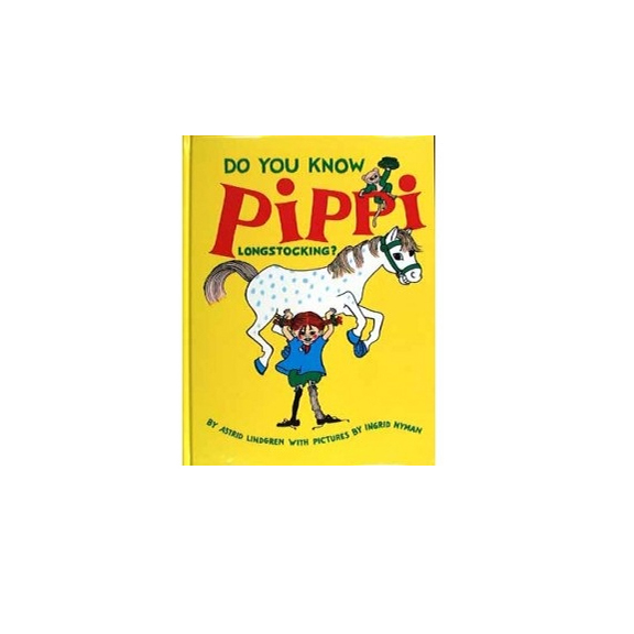 Do You Know Pippi Longstocking? Book, Hjelm Toys, Huset | Modern Scandinavian Design
