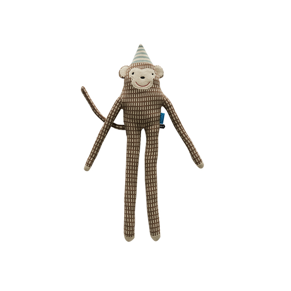 "OYOY Monkey ""Mr Nelsson"" Cushion - Huset Shop"