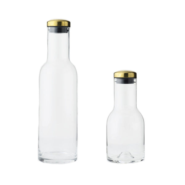 Menu Bottle Carafes with Brass Lid, Menu, Huset | Modern Scandinavian Design