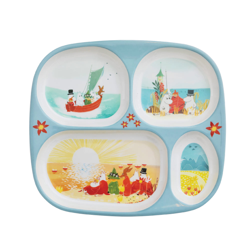 Moomin Compartment Plate