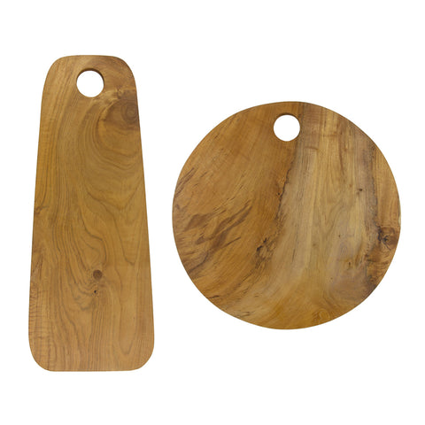 Sir Madam Teak Root Cutting Board