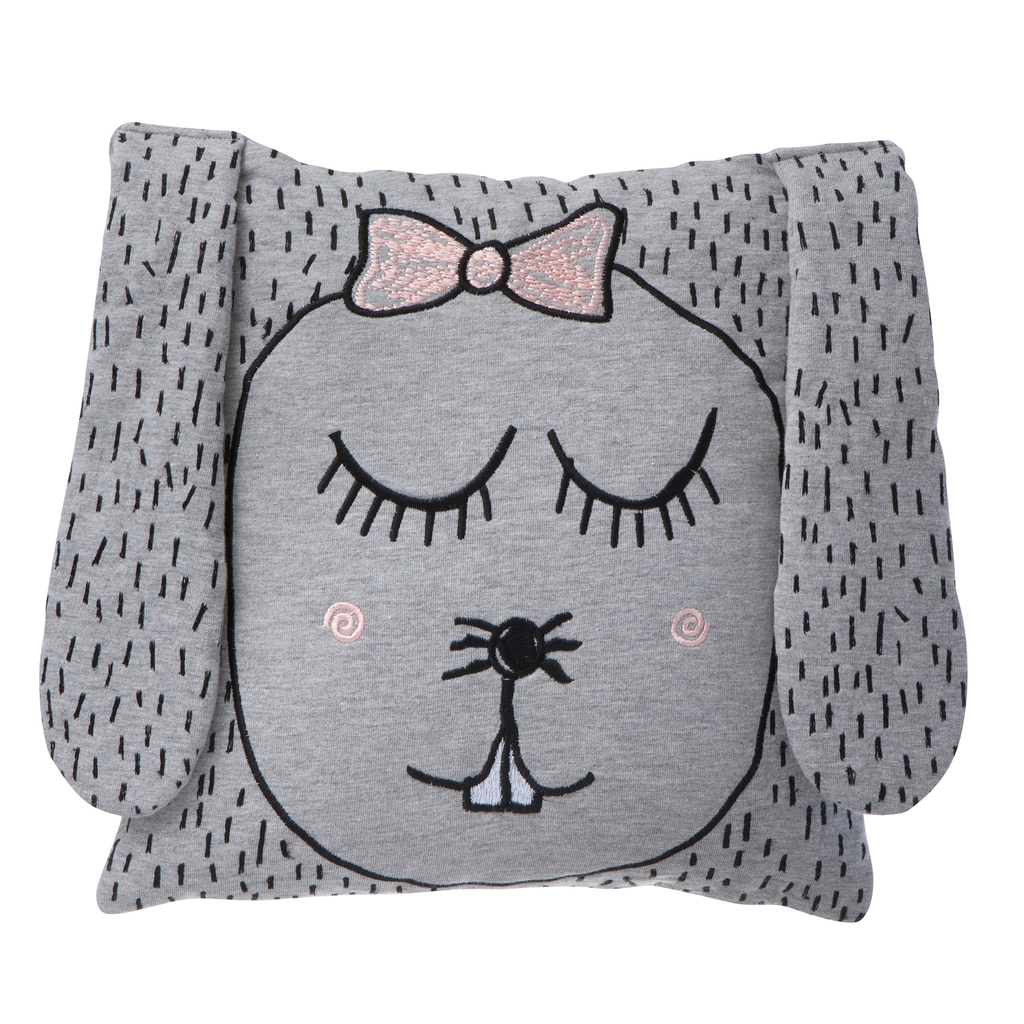 Ferm Living Little Ms Rabbit Cushion - Huset Shop - 1