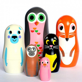 Ingela P. Arrhenius for OMM Nesting Dolls - Huset Shop - 3