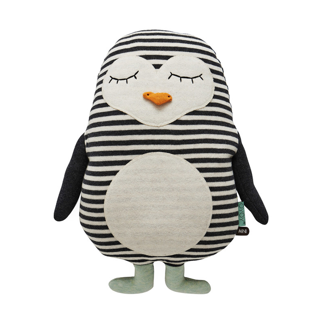 "OYOY Penguin ""Pingo"" Cushion - Huset Shop"