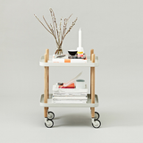 Normann Copenhagen Block Rolling Cart Table - Huset Shop - 4