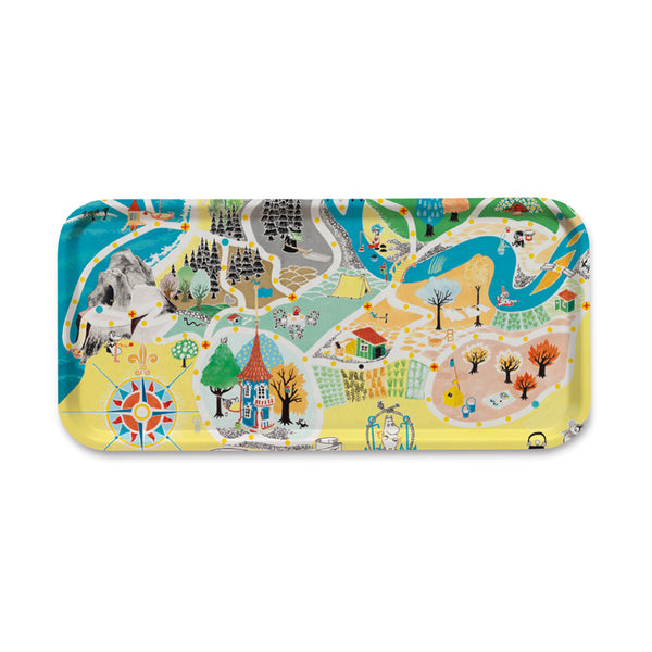 Opto Design Moomin Tray Large
