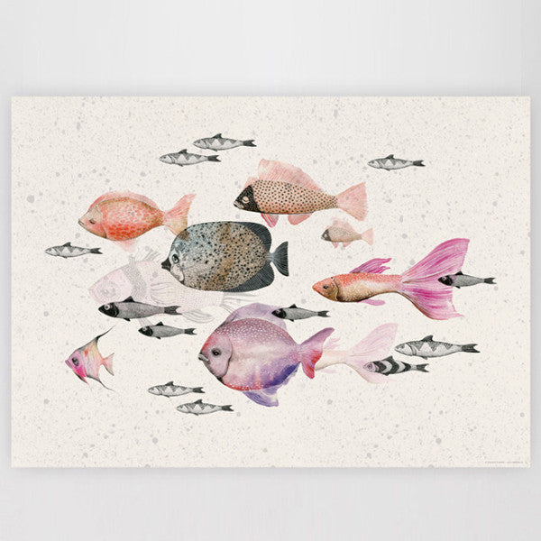 Mini Empire Deep Sea Poster, Mini Empire, Huset | Modern Scandinavian Design