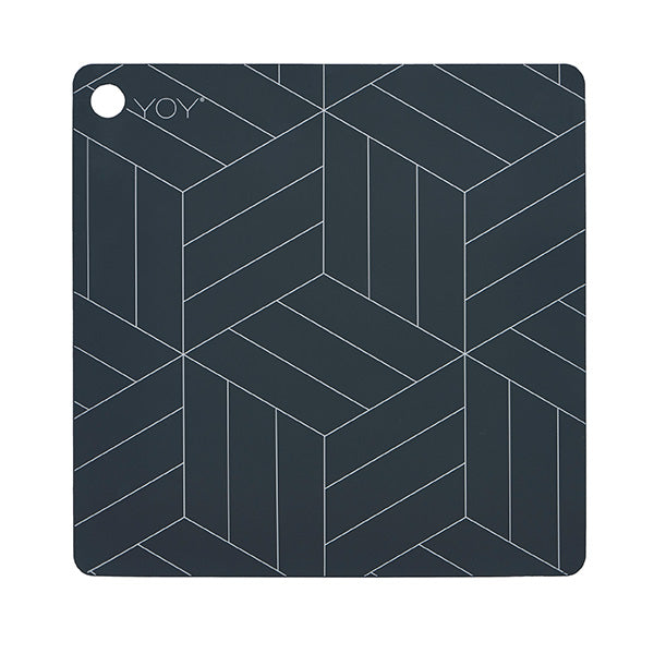 OYOY Square Silicone Placemat Set, OYOY, Huset | Modern Scandinavian Design