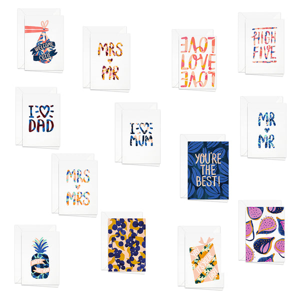 Pretty Paper Greeting Cards, Pretty Paper, Huset | Modern Scandinavian Design