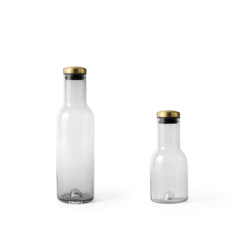 Menu Bottle Carafes Smoked Glass