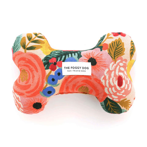 Foggy Dog Bone Squeaky Toy