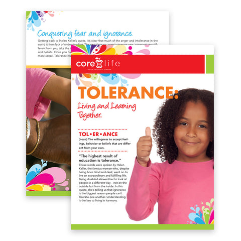 Tolerance Classroom Package