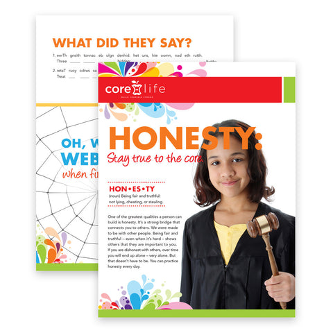 Honesty Classroom Package