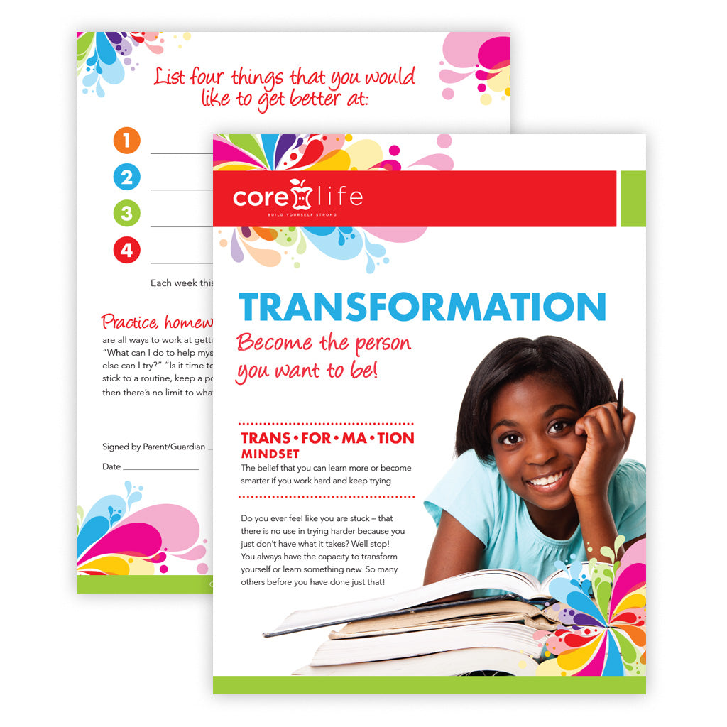 Transformation Classroom Package