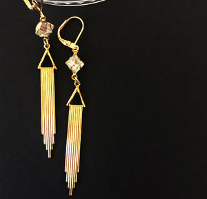 Coco- Art Deco Style Earrings - Ceci Punch Designs