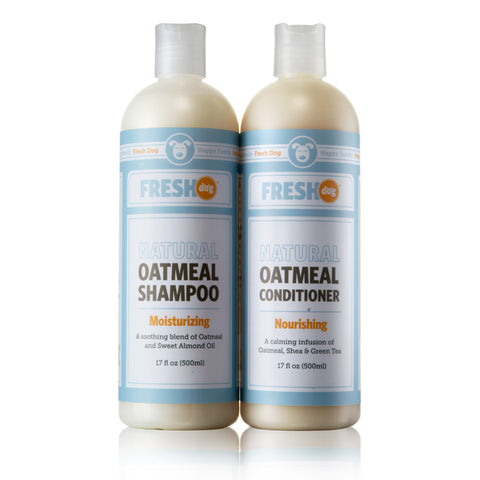 Fresh Dog Oatmeal Shampoo & Conditioner Set