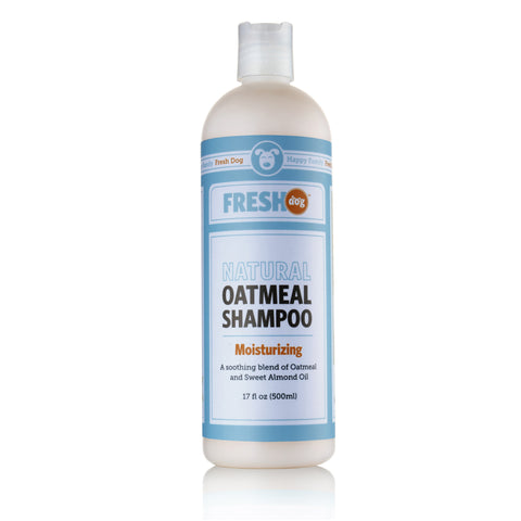 Fresh Dog Natural Oatmeal Shampoo for Dry Skin & Coat (17 oz.)
