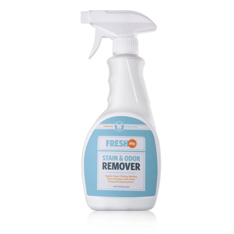 Fresh Dog Pet Stain & Odor Remover Cleaning Spray (16 oz)