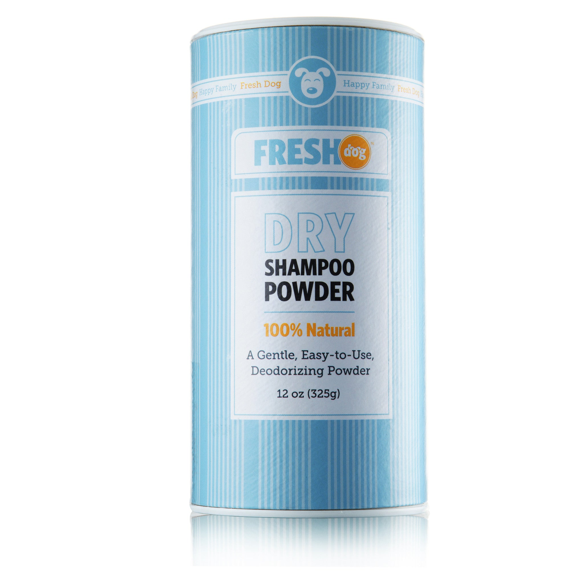 Fresh Dog All Natural Dry Shampoo Powder for Dogs & Puppies (12 oz )