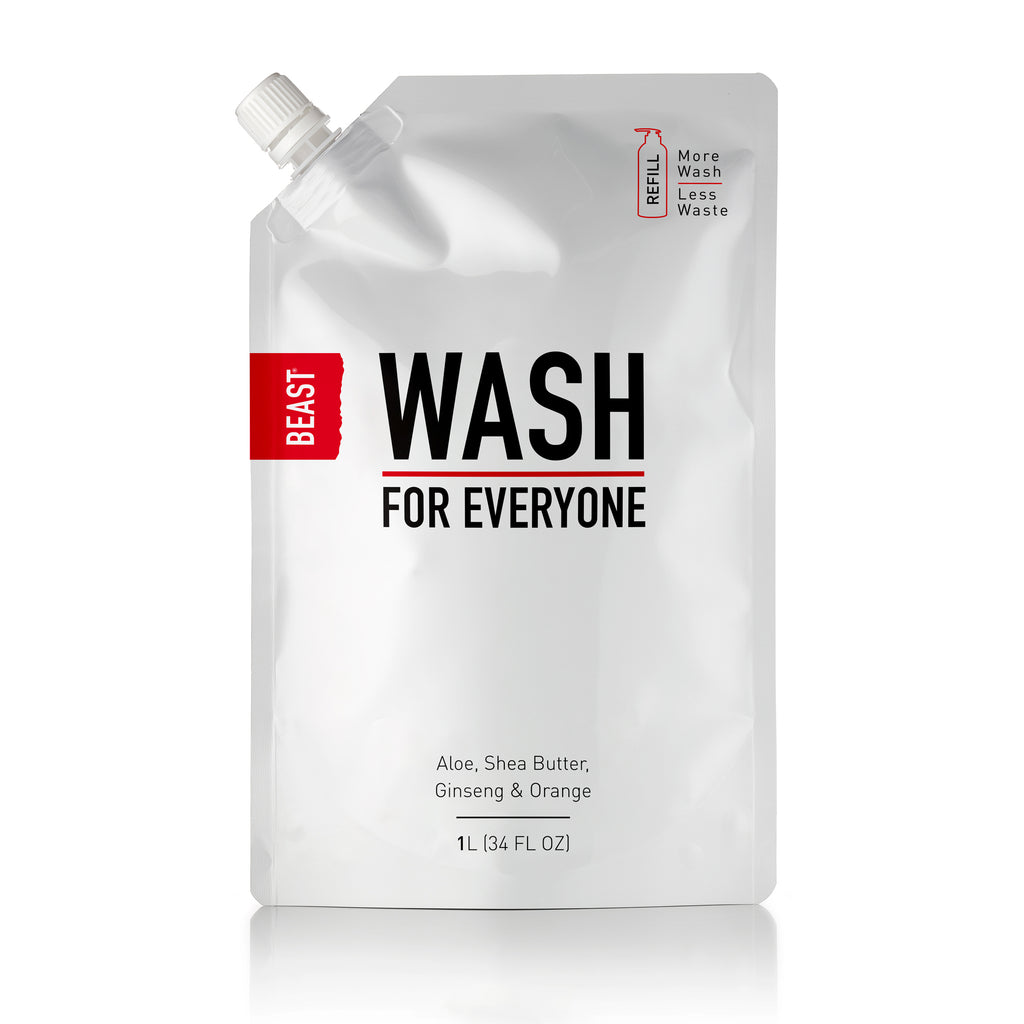 Beast Wash for Everyone All-in-1 Natural Body Wash