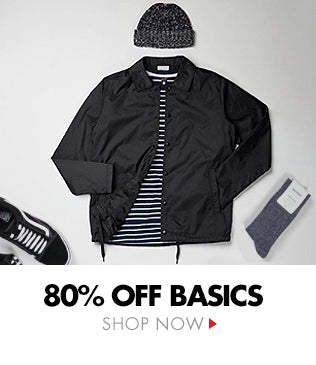 80% OFF Basics - The Hookup