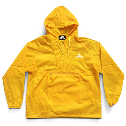 Just Hustle Windbreaker Yellow