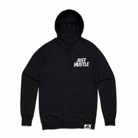 Just Hustle Chenille Patch Hoodie