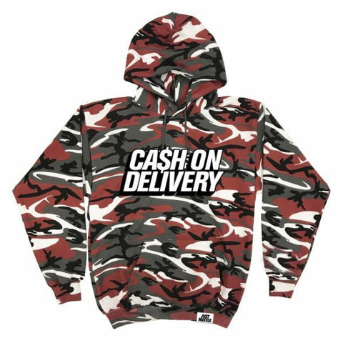 Cash Red Camo Hoodie