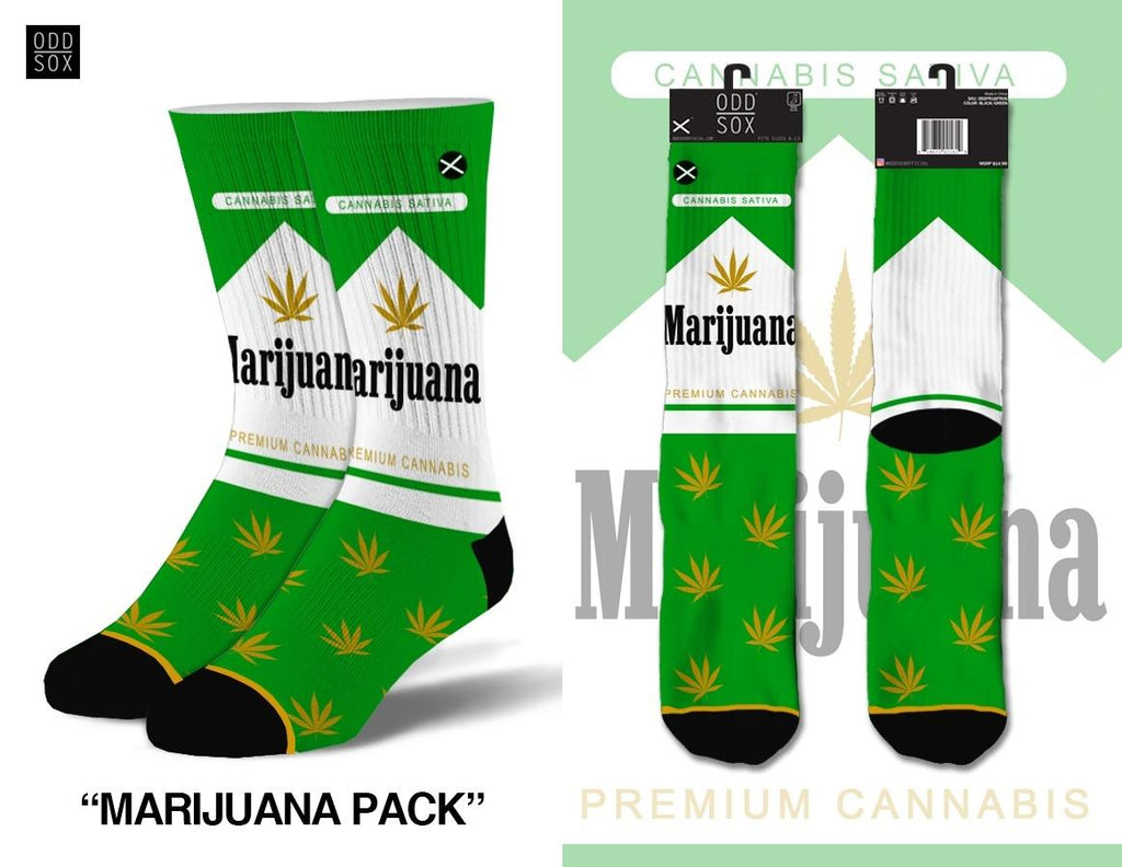 Marijuana Pack Socks