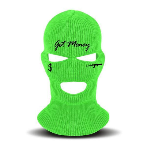 Get Money AK Ski Mask