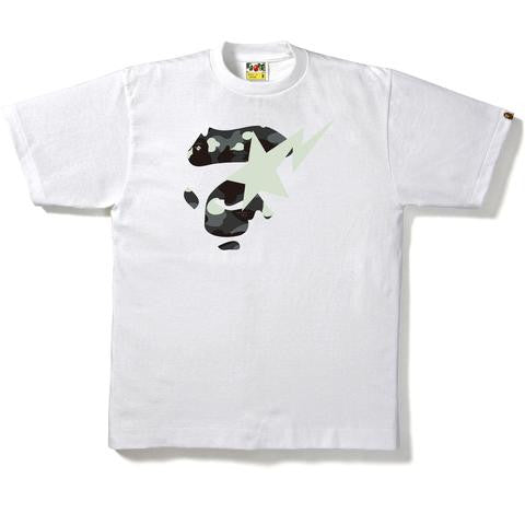 CITY CAMO APE FACE ON BAPESTA TEE