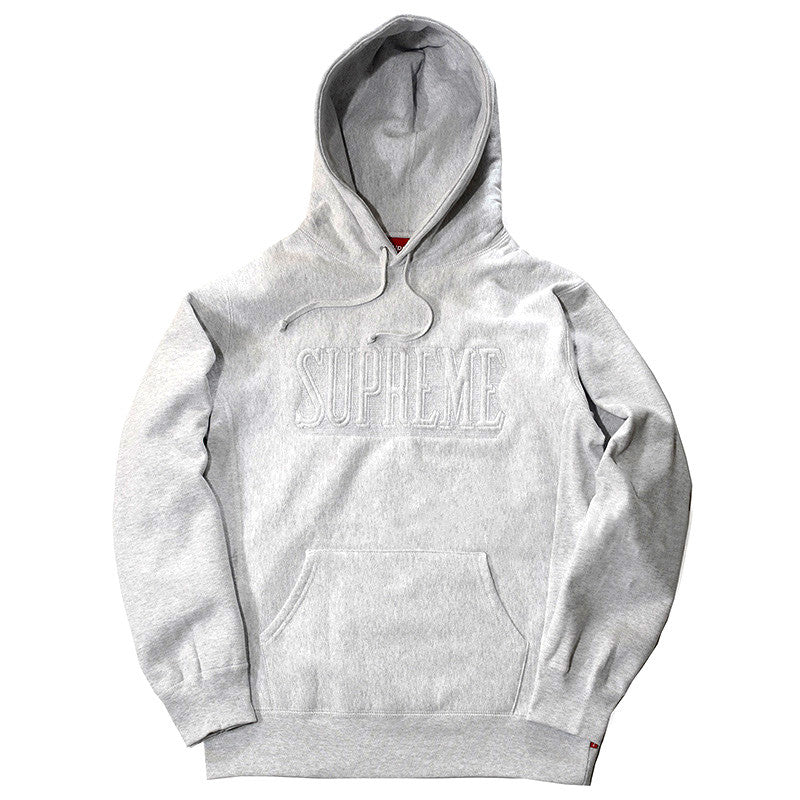Supreme Embroidered Outline Hoodie