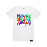 Drip Colors T-Shirt - White
