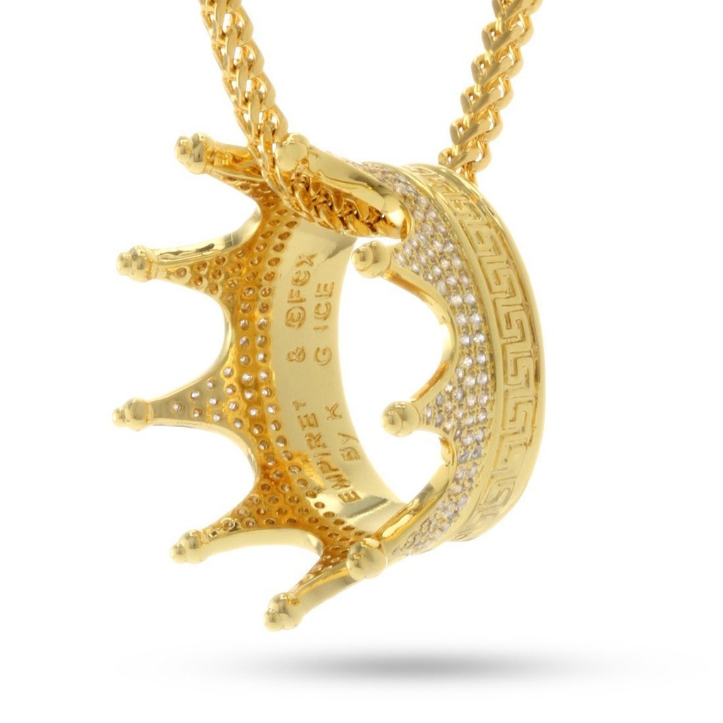"Fox ""Empire"" x KING ICE - Lucious Lyon's Crown Necklace"