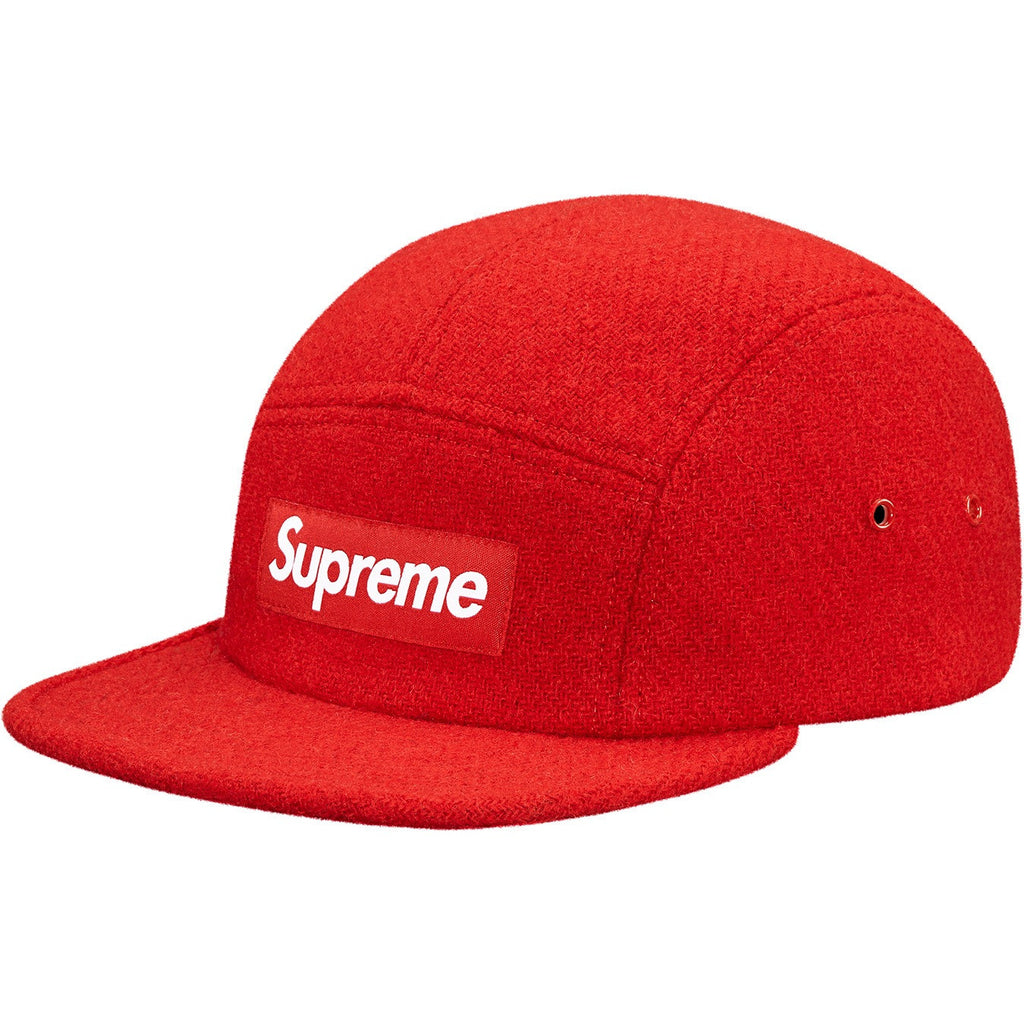 Supreme® Harris Tweed Camp Cap (RED)