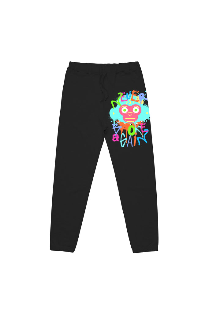 Spray Monkey Joggers - Black
