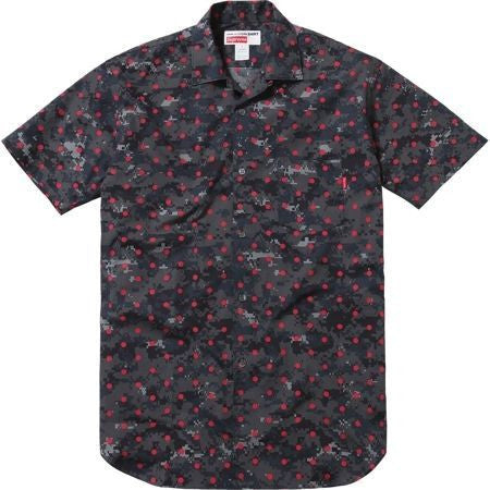 SUPREME CDG Loop Collar Shirt